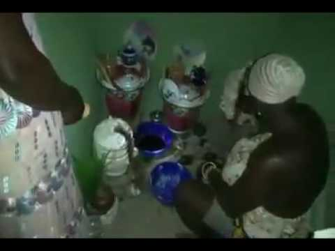 Yoruba Orisa Obatala Shrine igbin prayers orishas