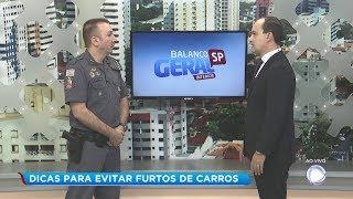 Policia Militar dá dicas para evitar furto de veículos