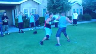 Exeter (CA) United States  city images : ERICK VS CEASER PART 2 EXETER CA STREET BOXING