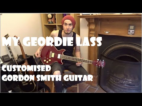 My Geordie Lass - My Customised Gordon Smith Double Cut