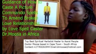 Video to analyses how to cast a lover spell through photographs
