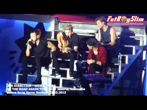 1D ONE DIRECTION – LITTLE THING live in Jakarta, Indonesia 2015