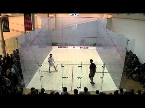 Men's College Squash: 2011 Potter Cup Semifinal – Rochester and Trinity #3s – Game 2