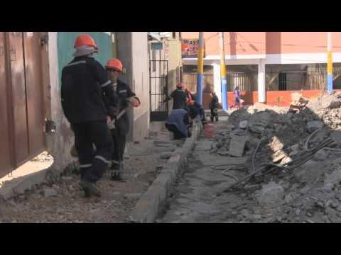 Remodelación en el casco urbano.