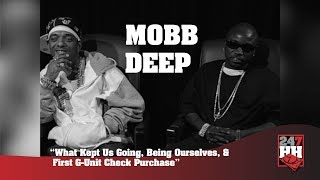 Mobb Deep - What Kept Us Going, Being Ourselves, First G Unit Check Purchase (247HH Archives)