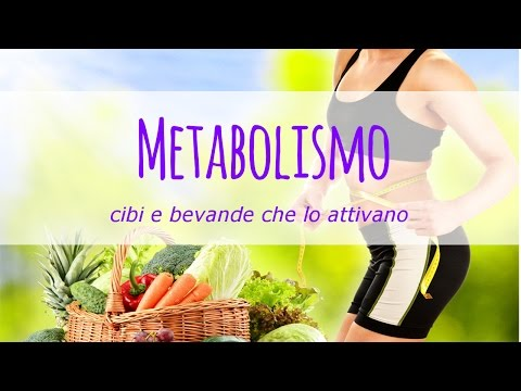 cibi e bevande dimagranti che attivano il metabolismo