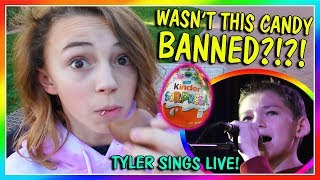 Video WAS THIS CANDY BANNED?   TYLER SINGS LIVE   We Are The Davises MP3, 3GP, MP4, WEBM, AVI, FLV Maret 2018