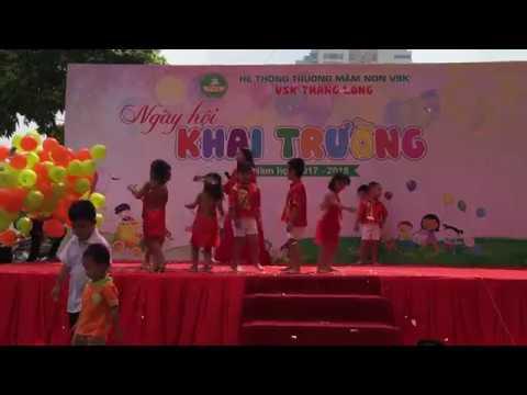 tiết mục múa nhạc pop của CLB múa trường mầm non VSK Thăng Long