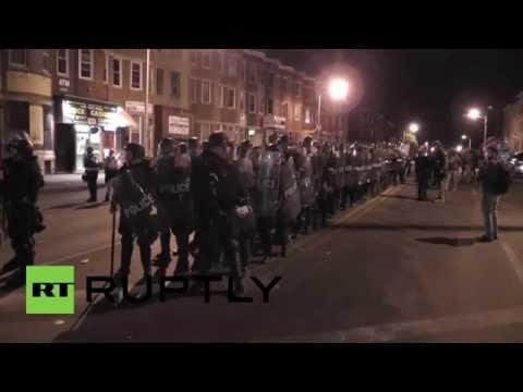 USA: Emergency curfew declared in Baltimore