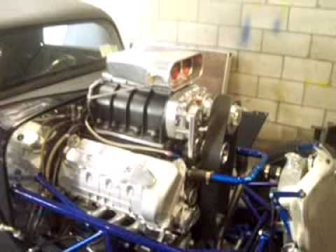 4.6 DOHC w/ 6-71 blower in a Factory Five 33 hot rod