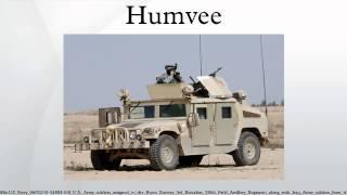 8. Humvee