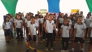 Em ritmo de funk, paródia sobre reciclagem e lixo pelos Eco Kids de Itapetinga