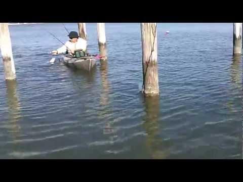 Kayak Fishing Redfish on the MS Gulf Coast