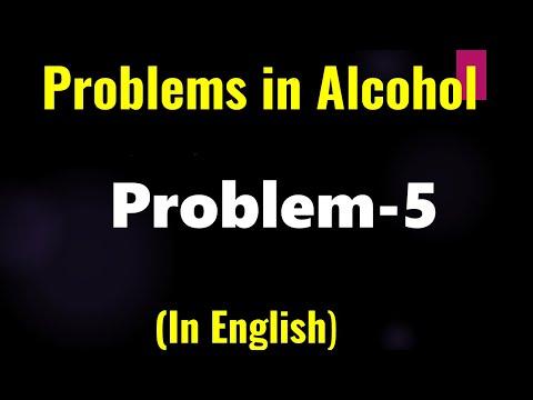 Organische Chemie: Alkohol - Problem