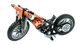 Lego Technic 42007 Model B Speedway Motorbike Speed Build And Review