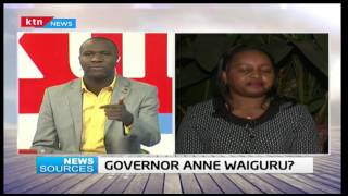 News Sources part two Governor Anne Waigiuru
