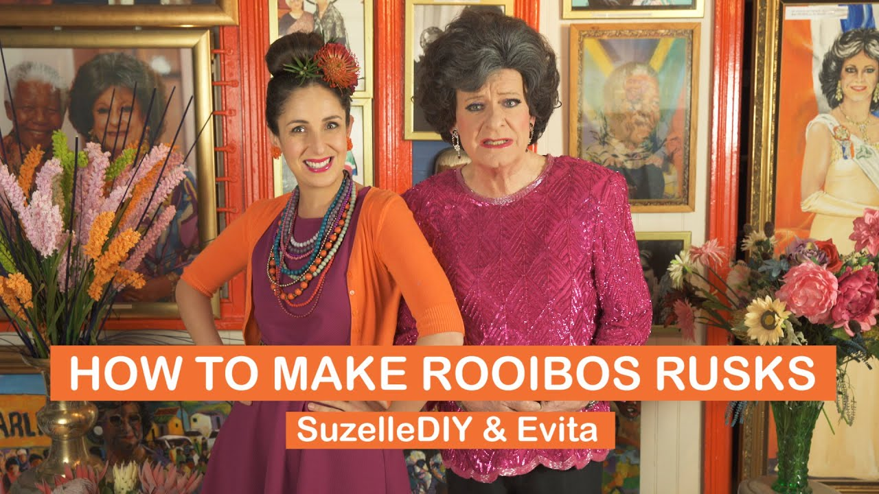 How to make Rooibos Rusks with Evita-graphic