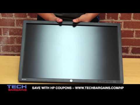 HP Z24i IPS LED Backlit Monitor Unboxing (HD)