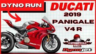 9. 2019 Ducati Panigale V4 R | Dyno Run