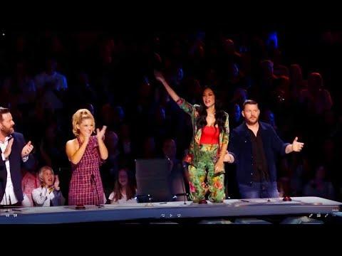 Nicole Scherzinger Act Of The Season Best Dance Act Sienna / Australia's Got Talent 2019
