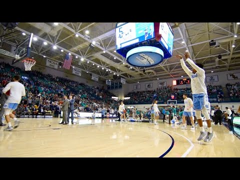 THI TV: UNC Pregame Warmups vs. UNCW
