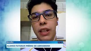Alunos da Unesp de Bauru conquistam prêmio de aerodesign