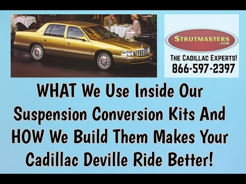 1994-1995 Cadillac Deville 4.9L Deluxe 4 Wheel Front Air Suspension Conversion Kit Build