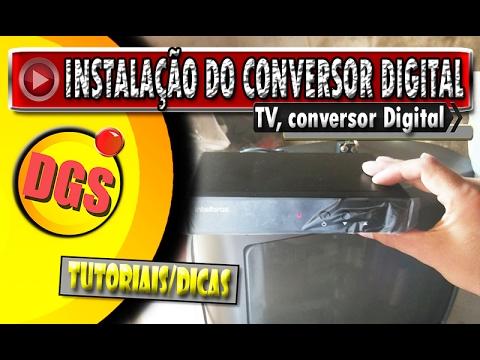 COMO INSTALAR CONVERSOR DIGITAL. : COMO INSTALAR CONVERSOR DIGITAL.
