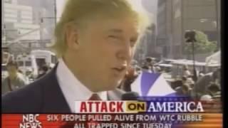 Donald Trump interview 2 days after 9/11 at ground zero