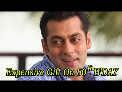 Check Out Salman Khan's Expensive Gift For Himse