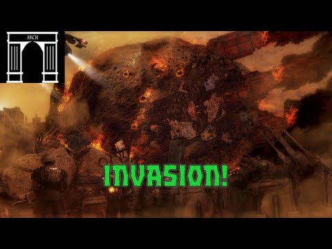 40k Lore, The War For Armageddon, 2nd Ork Invasion, The Landing