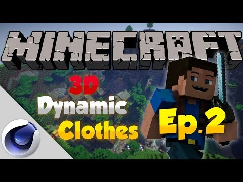 Minecraft DYNAMIC 3D CLOTHES Tutorial - Part 2
