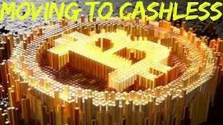 Bretton Woods Agreement, Fiat Currency Era and Moving to Cashless Society Part 4  http://www.financial-spread-betting.com/academy/bitcoin.html PLEASE LIKE AND SHARE THIS VIDEO SO WE CAN DO MORE!Bretton Woods Agreement (1944)- Pegged the U.S. dollar to gold at a rate of $35 per ounce- All other nation's currencies would be pegged to the U.S. dollar at an agreed fixed exchange rate- Foreign governments could keep U.S. dollars in reserve and given the right to redeem them in gold at the agreed rate- (1960's) U.S. was damaged by the cost of the Vietnam War- Expanded it's monetary supply to pay for it – beyond the value of it's gold reserves- France demanded their dollars be redeemed for gold(1971) President Nixon took the U.S. dollar off the gold pegFiat Currency Era (1970's - present)Money by government command- (1971) President Nixon took the U.S. dollar off the gold pegGovernments would now decide what their money supply should be- (1973) Great Inflation – OPEC countries imposed an oil blockadeNational central banks expanded the monetary   supply to compensate- This caused stagflation – high inflation and unemployment(1979) Great moderation – huge hikes in interest rates to constrain the monetary supply- Caused a recession but inflation was brought under control- Many national central banks now have a low positive inflation rate as a target of monetary policyDematerialisation of Money (1980's – present)- Since early 1980's -  Money has become increasingly electronic / digital (e.g. debit / credit cards, other transfers)- U.S. -  presently 3% of currency exists in physical form- U.K. - presently 3%-4% of currency exists in physical form- Remaining 96-7% of money is almost all created by banks- Private banks create money when they make loans- Purchasers take on a mortgage to buy houses- Lending bank created money (took deeds as collateral)- The banks only keep a fraction of deposits in reserve – justified on the expectation that depositors will not withdraw their money