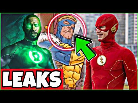 The Flash Season 7 LEAKS! NEW Villain Revealed! John Diggle Green Lantern ORIGIN!