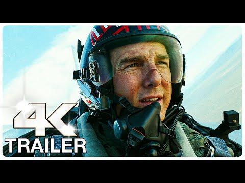 TOP GUN 2 MAVERICK : 8 Minute Trailers (4K ULTRA HD) NEW 2021