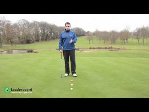 Putting Distance Control Tutorial from PGA Professional and Director of Golf at Sandford Springs
