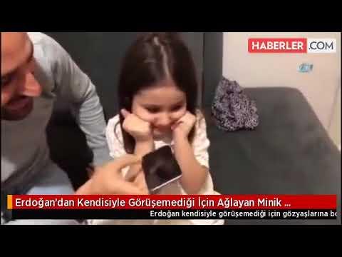 Cumhurbaşkanı Erdoğan, Minik Irmak'ı Telefonla Aradı by Haberler com   Dailymotion