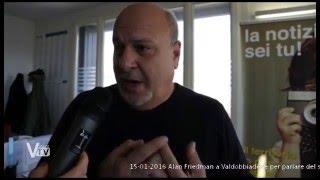 Intervista ad Alan Friedman