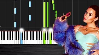 Demi Lovato - Cool for the Summer - Piano Cover/Tutorial  Ноты и М�Д� (MIDI) можем выслать Вам (Shee