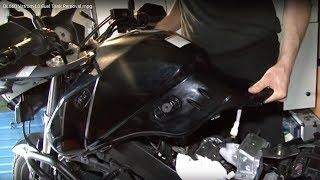 10. DL650 Vstrom L0 Fuel Tank Removal.mpg