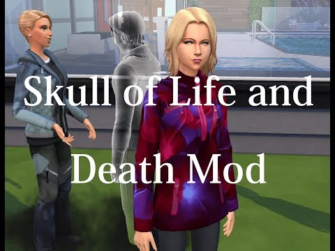 The Skull of Life and Death Mod Review! |The Sims 4 Mods