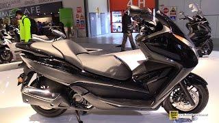 8. 2015 Honda Forza 300 Scooter - Walkaround - 2014 EICMA Milan Motorcycle Exhibition