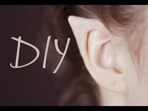 DIY Elf Ears + How to Apply Them