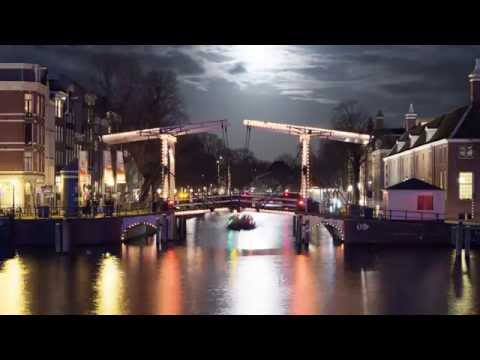 Amsterdam Light Festival 2014-2015: Water Colors Boat Route