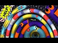Slitherio - World Biggest Worm Party Ever | Slitherio Epic Moments