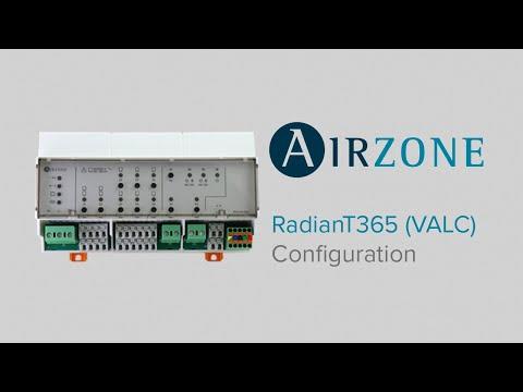 Configuration et auto-diagnostic du système RadianT365 pour plancher chauffant-rafraîchissant (VALC)