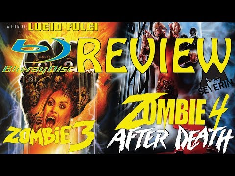 Zombie 3 / 4 Blu-ray Review Severin Films