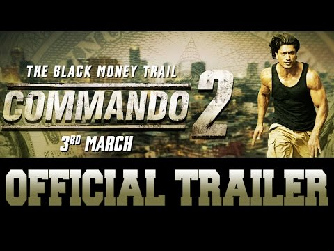 Commando 2 | Trailer | Vidyut Jammwal | Adah Sharm