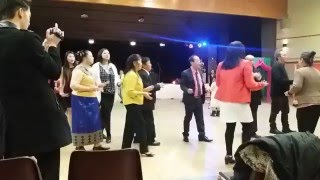 Irigny France  city pictures gallery : Irigny Nouvel An Hmong 2016 Danse Lamvong