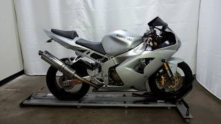 5. OSN0277 2004 Kawasaki Ninja ZX6R – used motorcycles  for sale– Eden Prairie, MN